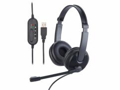 Micro-casque stéréo USB GHS-120