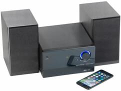 """Mini-chaîne """"MSX-560"""" 30 W avec lecteur CD, radio FM, lecteur MP3 et bluetooth"""
