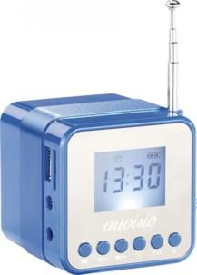 Mini station MP3 avec radio, réveil et Bluetooth  ''MPS-560.cube'' - Bleu