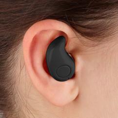 oreillette bluetooth compatible iphone ios android avec utilisation à 1 main callstel
