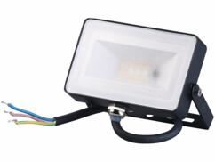 Projecteur d'extérieur télécomandé à LED RVB - 10W- 750lm - Blanc neutre