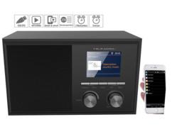Radio Internet connectée 6 W avec écran couleur et fonction réveil