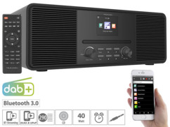 radio stereo numerique dab+ et internet avec lecteur cd et bluetooth IRS680 vr radio