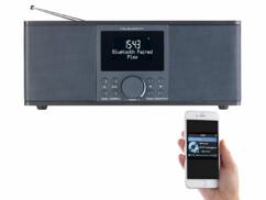 Radio numérique stéréo DAB+/FM avec fonctions bluetooth & réveil DOR-500 - Noir