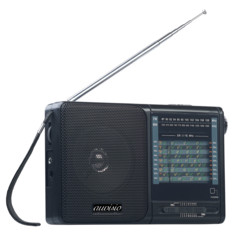 "Récepteur radio analogique mondial FM / MF / HF ""TAR-605"""