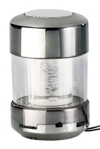 Système audio avec radio FM et effets lumineux RVB MSS-250.tube