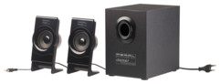 pack audio pc 2.1 2 hp + 1 subwoofer avec bluetooth moins 20 euros Auvisio