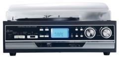 Tourne-disque 6 W 4 en 1 avec fonctions bluetooth et numérisation MHX-400