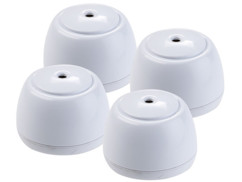 4 mini détecteurs d'eau sans fil 85 dB