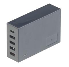 Chargeur secteur USB A & C 5 ports / 40 W avec fonction Quick Charge 3.0