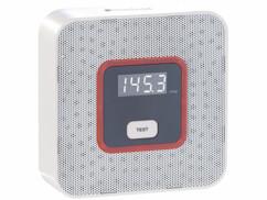 Détecteur de gaz avec alarme 85 dB.