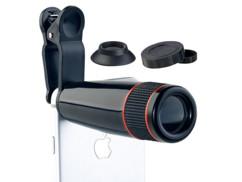 Téléobjectif avec zoom optique 12x pour smartphone et tablette