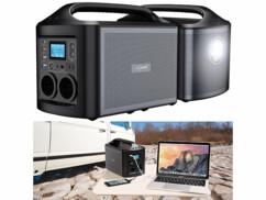Batterie nomade 156 Ah et convertisseur solaire HSG-561