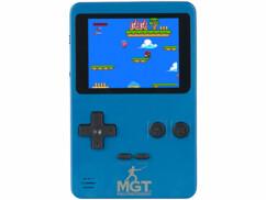 Console de jeu rétro 16 bits portable ou à brancher sur un téléviseur grâce au câble AV fourni.