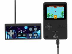 Console portable 8 bits avec 200 jeux et une manette fournie.