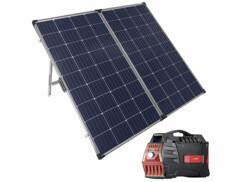 Panneau solaire 260 W avec batterie d'appoint HSG-800 Revolt.