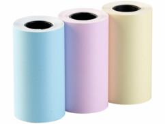 3 rouleaux autocollants colorés pour imprimante thermique TD-100.app