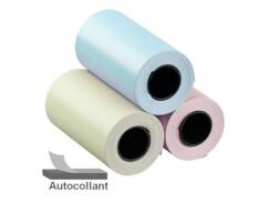 roulleaux autocollants de couleur pour imprimante thermique Callstel