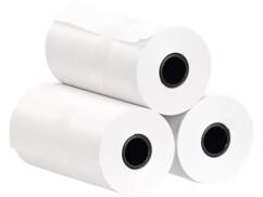 Trois rouleaux de papier thermique autocollant pour imprimante thermique TD-150.app Callstel.