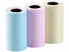 Pack de 3 rouleaux de papier thermique de couleur pour imprimante thermique TD-150.app (ZX5048) Callstel.