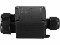 Boîtier de connexion d'extérieur pour 3 câbles de Ø 9 - 14 mm