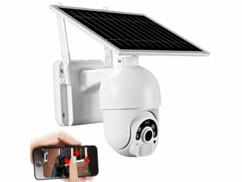 Caméra IP solaire Full HD modèle IPC-700.slr par 7Links.