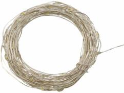 Guirlande lumineuse de 10 mètres avec fil en cuivre à façonner soi-même, pour une décoration de Noël sur-mesure.