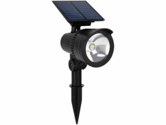 Spot LED RVB CCT connecté par application disponible gratuitement sur iOS et Android.