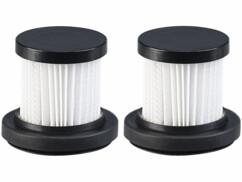 Deux filtres HEPA pour aspirateur à main BHS-510.ak Sichler Haushaltsgeräte.