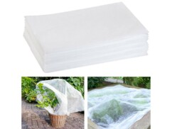 Pack de 2 voiles d'hivernage de 10 x 1,6 mètres pour plantes en extérieur.