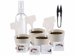 Kit complet pour faire pousser soi-même ses bonsaï