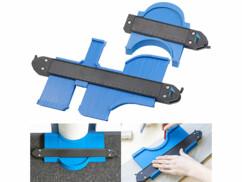 Deux jauges de contour avec verrouillage pour mesurer vos découpe de carrelage, parquet ou stratifié.