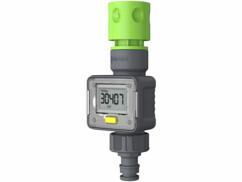Compteur d'eau numérique pour contrôler votre consommation d'eau dans le jardin.
