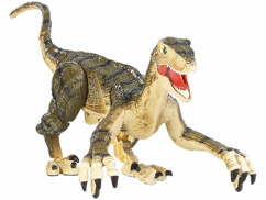 Dinosaure télécommandé avec effets sonores.