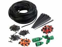 Système d'irrigation 136 pièces avec tuyau de 40 m PBS-1