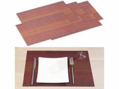 6 sets de table en polyester - 45 x 30 cm