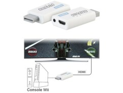 Adaptateur HDMI pour Nintendo Wii Full HD