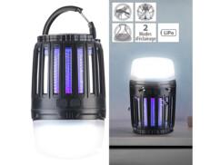 Lanterne de camping et piège à insectes à UV IV-200