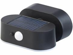 Projecteur LED solaire sans fil avec capteur de mouvement.
