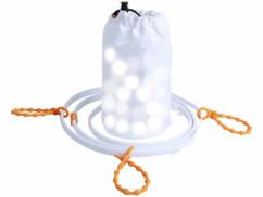 Tube lumineux d'extérieur USB avec 90 LED - 3 m - Blanc lumière du jour