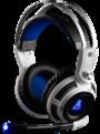casque pc gaming compatible xbox ps4 ps vita smartphone tablette avec cable et son basses super intenses g-lab korp200 korp 200