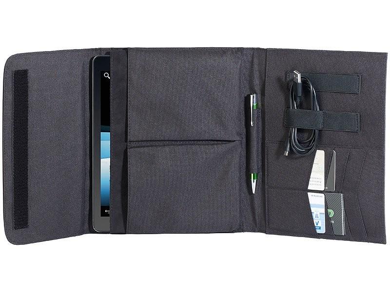 housse de rangement pour tablette et ipad avec porte. Black Bedroom Furniture Sets. Home Design Ideas
