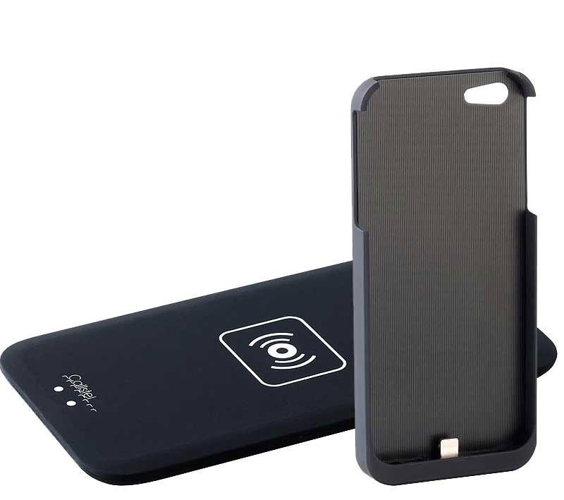 kit chargement induction par contact qi pour iphone 6 plus avec coque. Black Bedroom Furniture Sets. Home Design Ideas