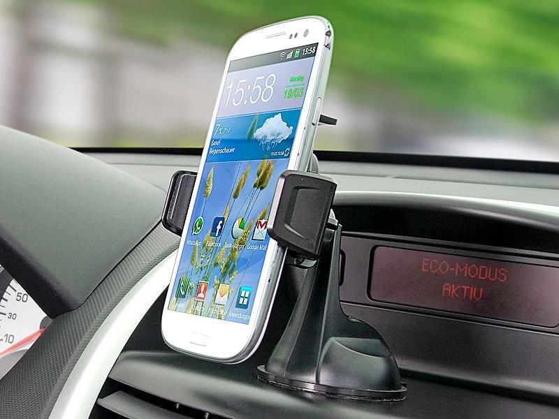 support auto pour smartphone avec balise nfc samsung htc. Black Bedroom Furniture Sets. Home Design Ideas