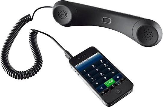 Combin t l phone pour smartphone et iphone avec prise - Telephone fixe avec prise jack ...