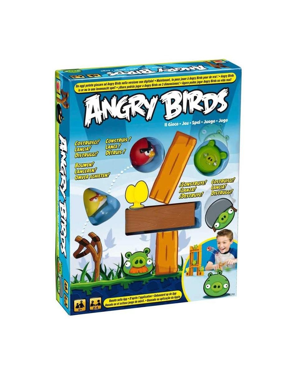 jeu angry birds construire jeu de soci t pour 2 4 enfants. Black Bedroom Furniture Sets. Home Design Ideas