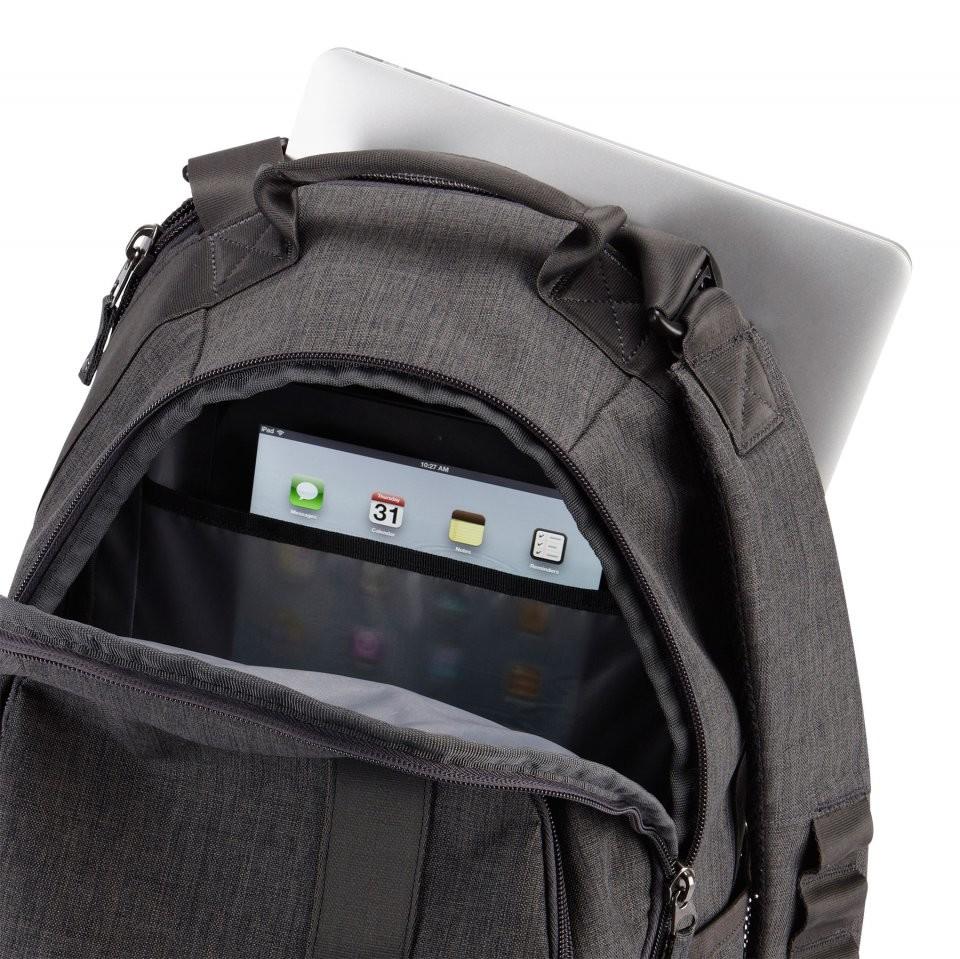 sac dos pour pc 15 6 39 et tablette case logic bpca 115. Black Bedroom Furniture Sets. Home Design Ideas
