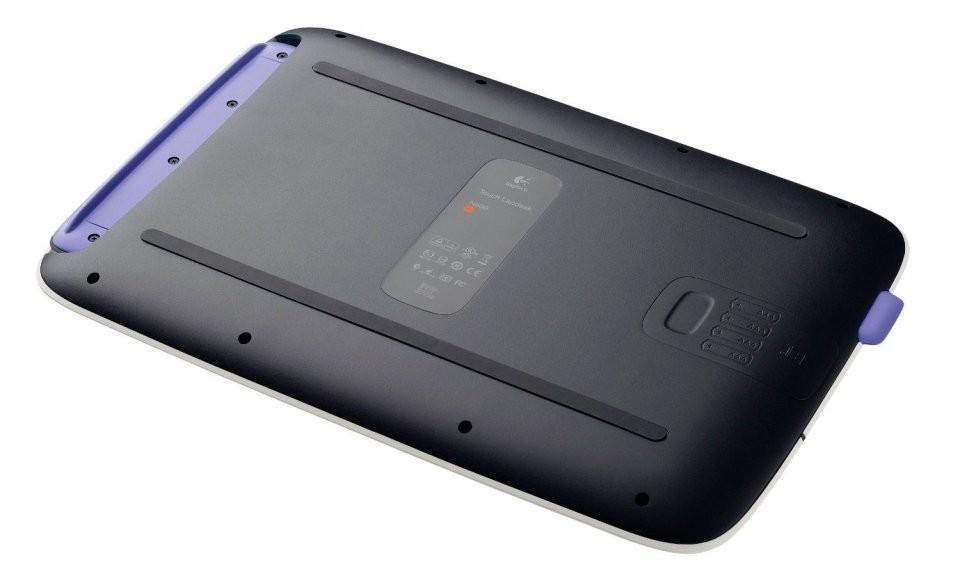 support pc portable lapdesk avec pav tactile logitech pas. Black Bedroom Furniture Sets. Home Design Ideas