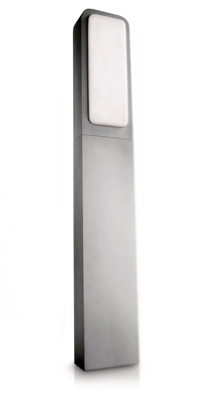 borne d 39 clairage ext rieure en aluminium philips 78 cm. Black Bedroom Furniture Sets. Home Design Ideas