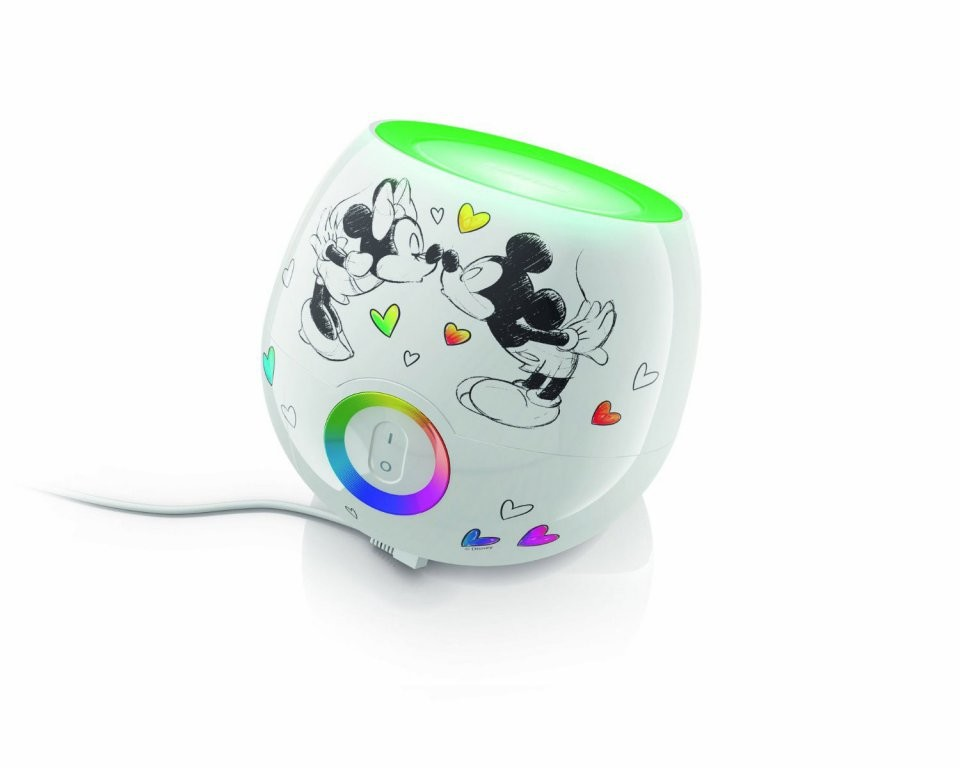 Lampe Deco Pour Chambre D Enfant Philips Livingcolors Mickey